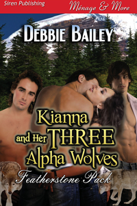 Kianna and Her Three Alpha Wolves (MFMM)