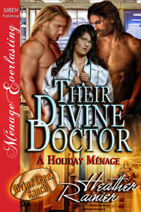 Their Divine Doctor, A Holiday Ménage (MFM)
